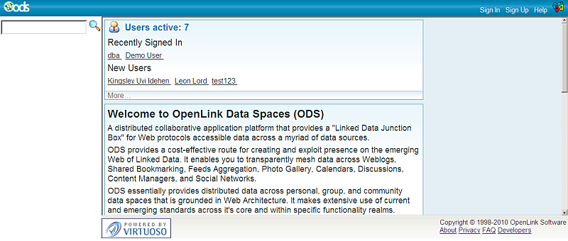 Link existing ODS user with Facebook account using the Profile Setup