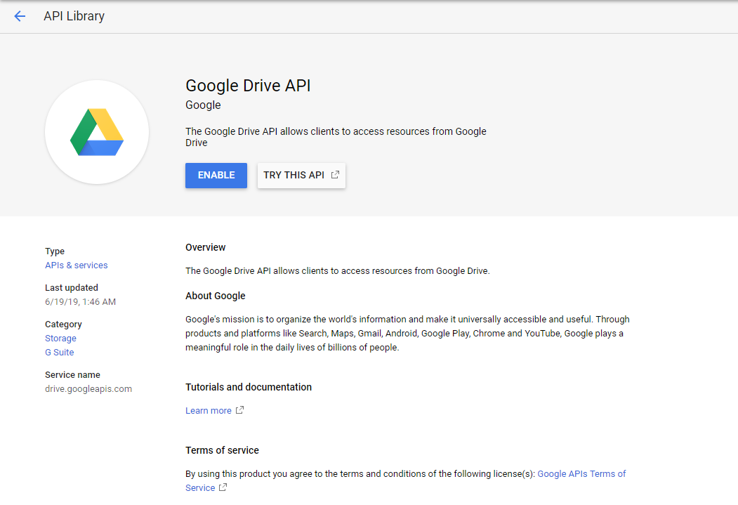 Using ODS-Briefcase to mediate access to data stored in Google Drive